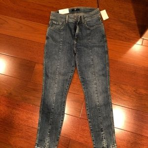 7 for All Mankind Ankle Skinny Jeans Size 27